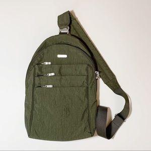 Baggallini Olive Quickstep Sling Backpack